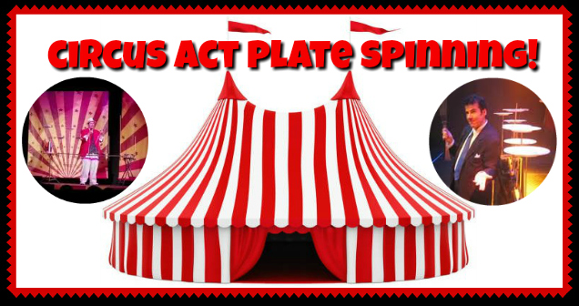 Circus entertainment for parties